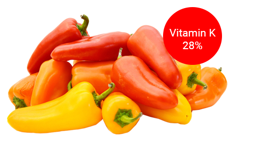 fruity peppers for immune system